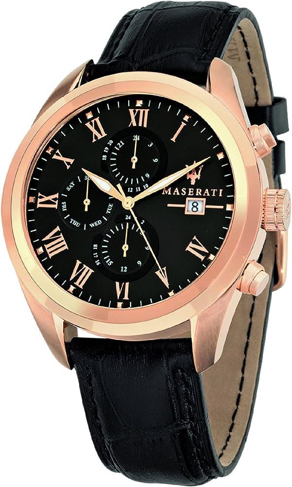 Maserati orologio cronografo uomo R8871612002