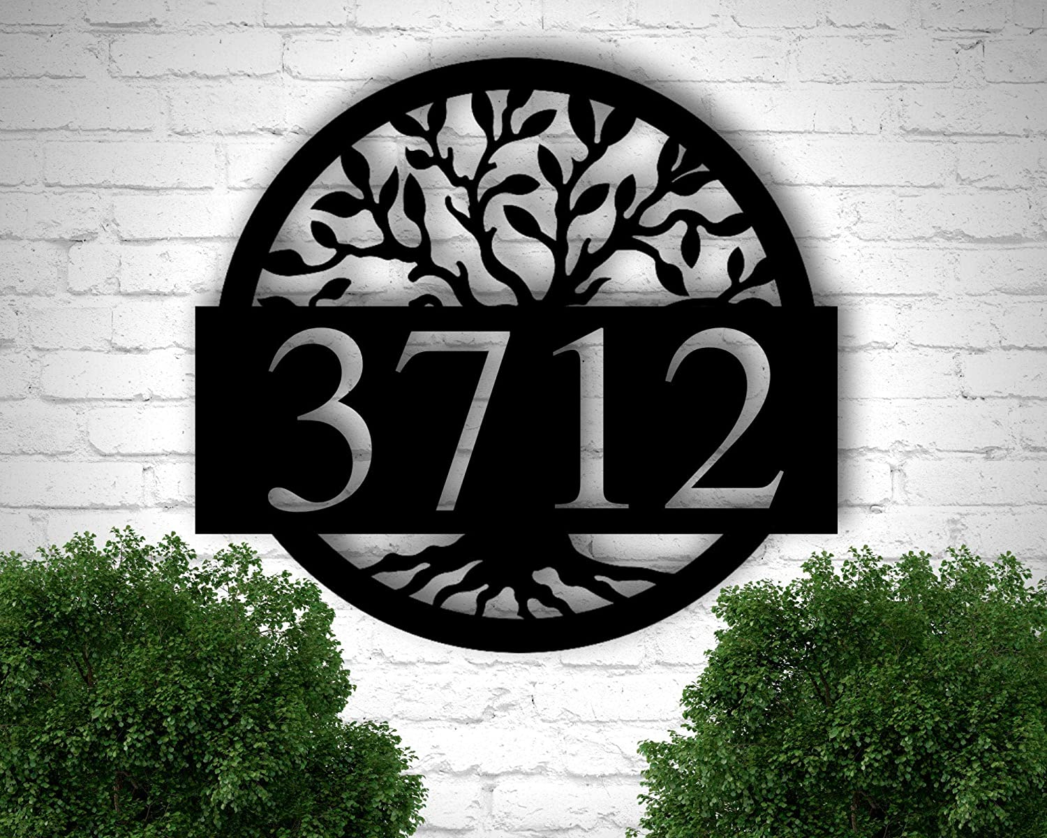Tamengi Metal Address Sign for Numb Plaque Super sale period limited At the price House