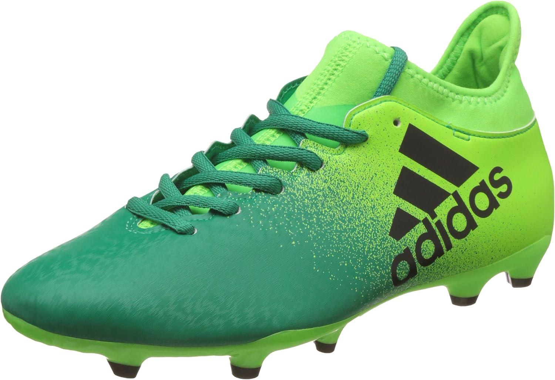 Adidas Herren X 16.3 Fg Fußballschuhe  | Grüne, neue Technologie