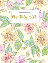 Monthly Bill Planner and Organizer: bill and budget journal | 3 Year Calendar 2020-2022 Budget Planner | Weekly Expense Tr...