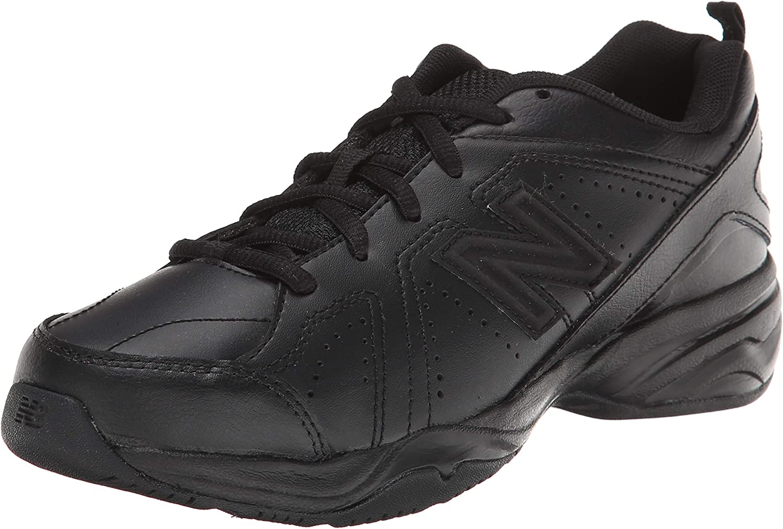 New Balance 624 V2 Running Shoe, Black, 11.5 Wide US Unisex Little_Kid