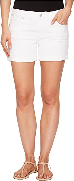 The Roll Up Shorts in Clean White