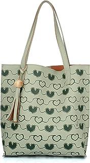 Mammon Women's Tote Handbag (35X35 CM) (Tote-hrt-mint)