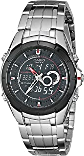 Men's EFA119BK-1AV Ana-Digi Edifice Stainless Steel Watch