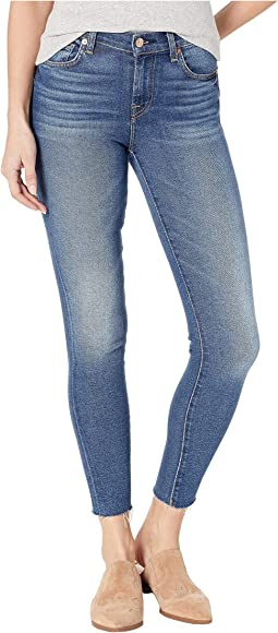 585168dc 7 for all mankind ankle skinny w scallop hem in midnight moon ...