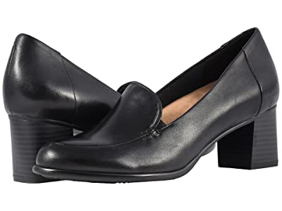 Trotters Quincy (Black Soft Nappa Leather) Women