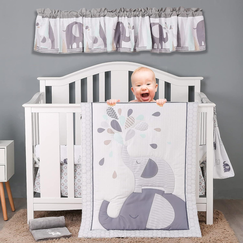 Brandream Playful Elephant Baby Boys Beddi Crib and Nursery Our shop most popular 2021 model Girl