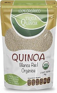 Tiqua Grano de Quinoa, color Blanco, 1 kg
