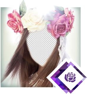 Bridal Flower Headband Montage