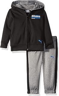 Baby Boys' Fleece Zip Up Hoodie Set
