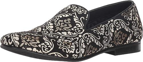 Steve Madden Hommes's Charmer Loafer, noir noir or, 8 M US  prendre jusqu'à 70% de réduction