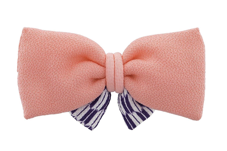 (ソウビエン) 髪飾り リボン 矢羽根 縮緬 成人式 振袖向き 卒業式 袴向き