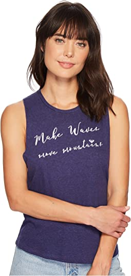 Roxy Make Waves Muscle Tank Top