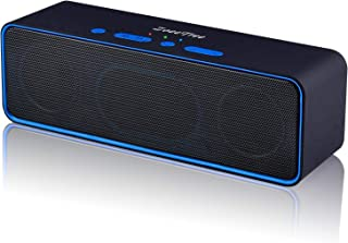 ZoeeTree S4 Wireless Bluetooth Speaker, Portable Stereo Subwoofer with HD Sound and Bass, Built-in Mic, Bluetooth 4.2, TF Card Slot, Outdoor Speakers for iPhone, iPad, Samsung etc