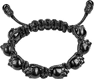 bada38394229 Bomberg M13M Skully Bracelet Thread Pvd Heads para Hombre