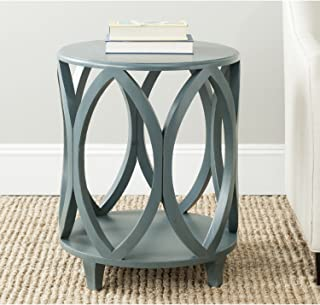 Safavieh American Homes Collection Janika Steel Teal Accent Table