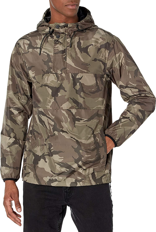 RVCA Men's Krail Anorak Jacket