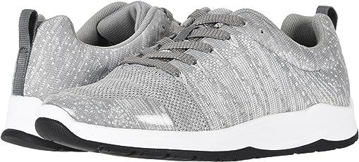 Grey/White Knit