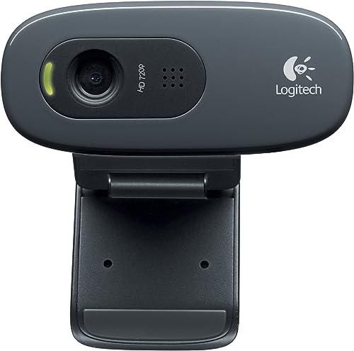 wholesale Logitech Hd Webcam popular C270, 720p Widescreen Video Calling outlet sale & Recording (960-000694), 3.15 Lb sale