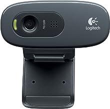 Logitech Hd Webcam C270, 720p Widescreen Video Calling & Recording (960-000694), 3.15 Lb