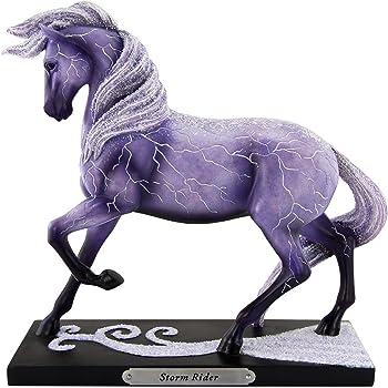 Enesco Trail of Painted Ponies Unicorn Magic Stone Resin Figurine White 6001096