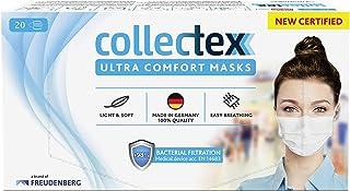 Vileda Collectex Ultra Comfort maska medyczna typu II, biała, 20 sztuk