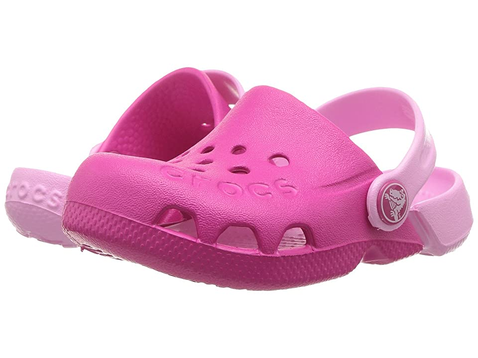 Crocs Kids Electro (Toddler/Little Kid) (Candy Pink/Carnation) Girls Shoes