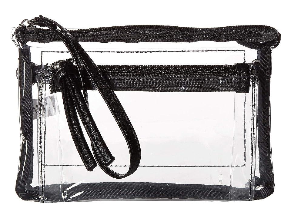 T-Shirt & Jeans Clear Wristlet/Crossbody (Clear) Handbags