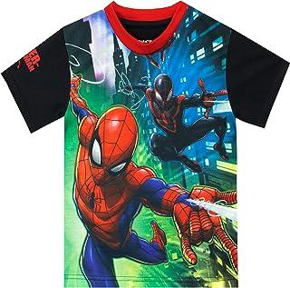 Marvel - T-Shirt - Spiderman - Garçon - l'homme Araignée
