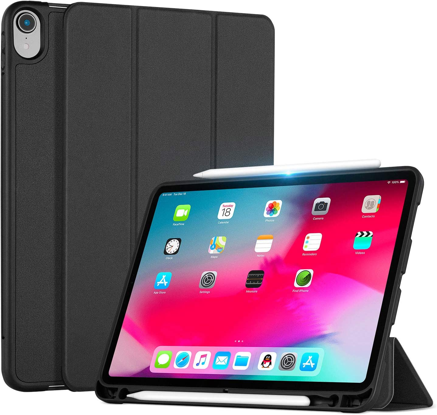 Ayotu Case for iPad Pro 12.9 inch 2018 Release Suppo Max 43% OFF Model - Old High order