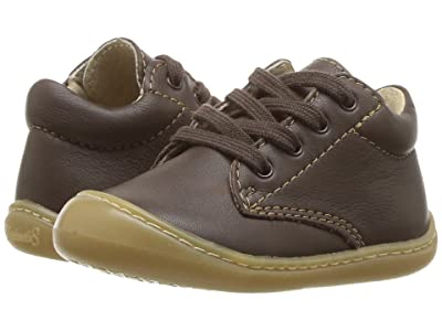 FootMates Reagan (Infant/Toddler) (Brown Nappa) Kids Shoes