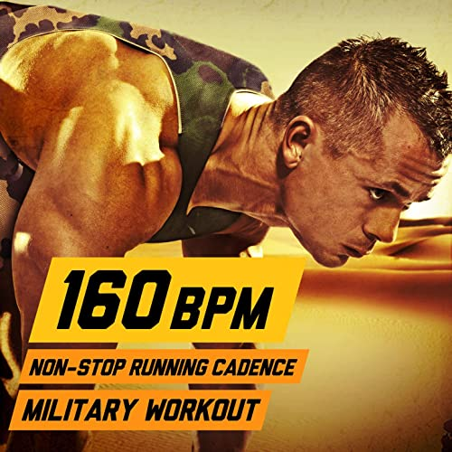 160 bpm non stop running cadence military workout by u.s. drill