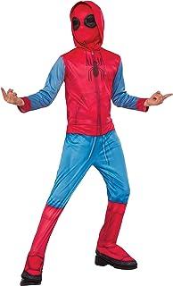 Marvel - Disfraz de Spiderman Sweats para niños, infantil 7-8 años (Rubie's 640129-L)