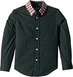 Tartan Cotton Poplin Shirt (Toddler)