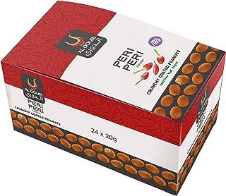 Al Douri Crunchy Coated Peanuts, Peri Peri, 24 x 20 gm