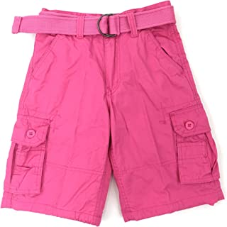 Henry & Willaim Boy's Cargo Shorts with 22 Variety of Colors