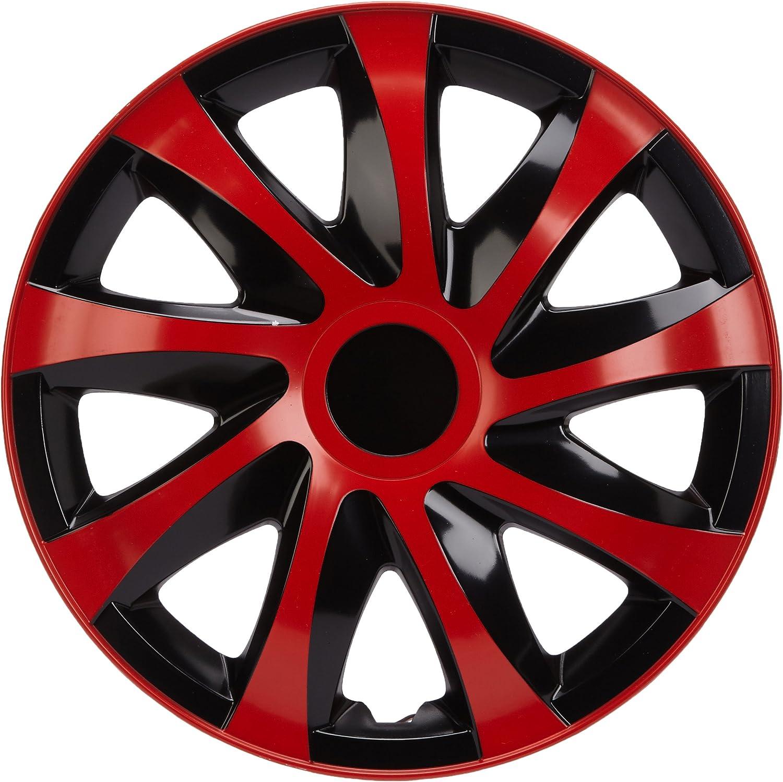 Nrm Ko237 Radzierblende Draco Cs Schwarz Rot 13 Zoll 4er Set Auto