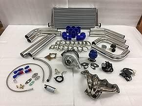 Civic B Series B16 B18 B20 ZC T3T4 .63 Turbo Kit Stainless Steel Manifold