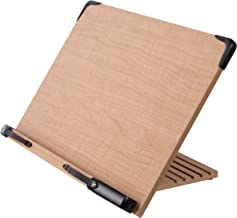A+ Book Stand BS2500 Large Book Holder w/Adjustable Foldable Tray and Page Paper..