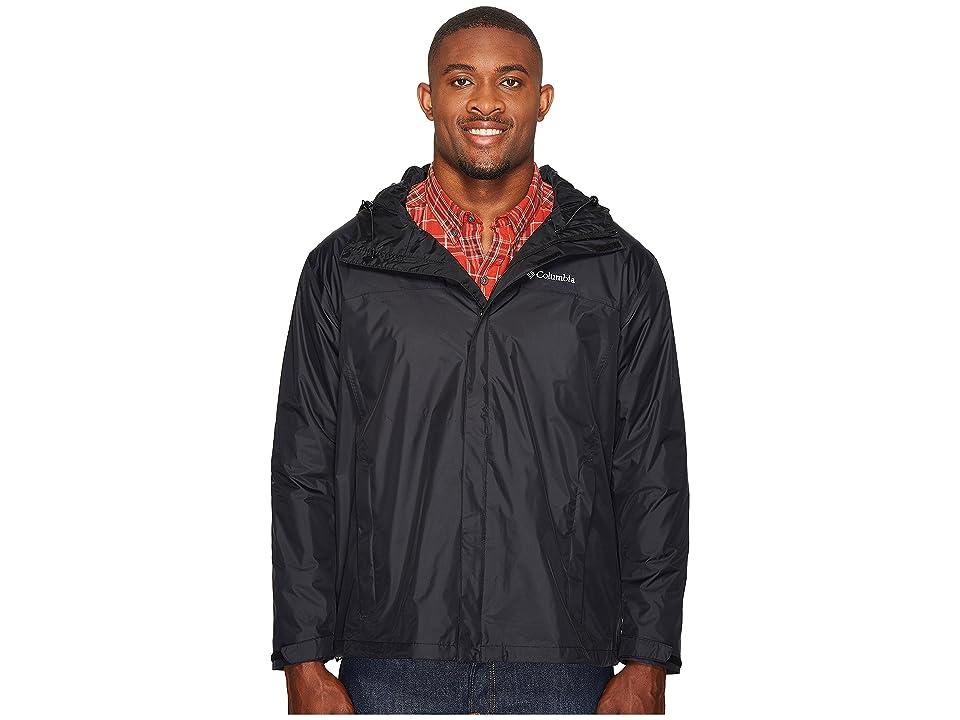 Columbia Big Tall Watertighttm II Jacket (Black) Men