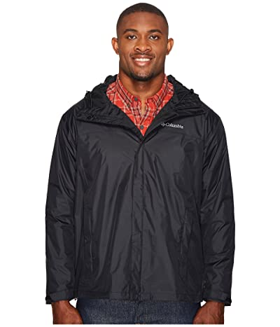 Columbia Big Tall Watertighttm II Jacket (Black) Men