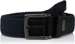 Nike Men's G-Flex Woven Stretch Golf Belt, Navy Blue, 36