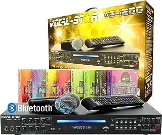 "Vocal-Star VS-1200 CDG DVD HDMI Karaoke-Maschine ""Me"