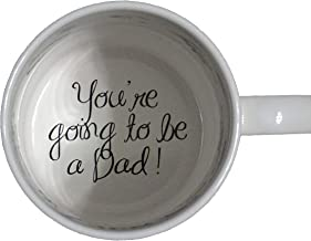 You're Going to be a Dad Coffee Mug, Pregnancy Announcement, pregnancy reveal , Bottom, hidden message, secret message, Coffe cup