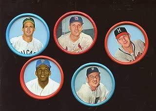 1963 salada baseball coins