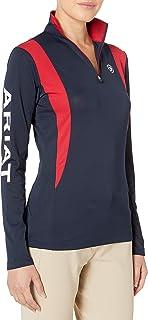 ARIAT Women's Sunstopper 1/4 Zipshirt