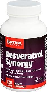 Jarrow Formulas Resveratrol Synergy - 120 Tabs 120 unidades 190 g