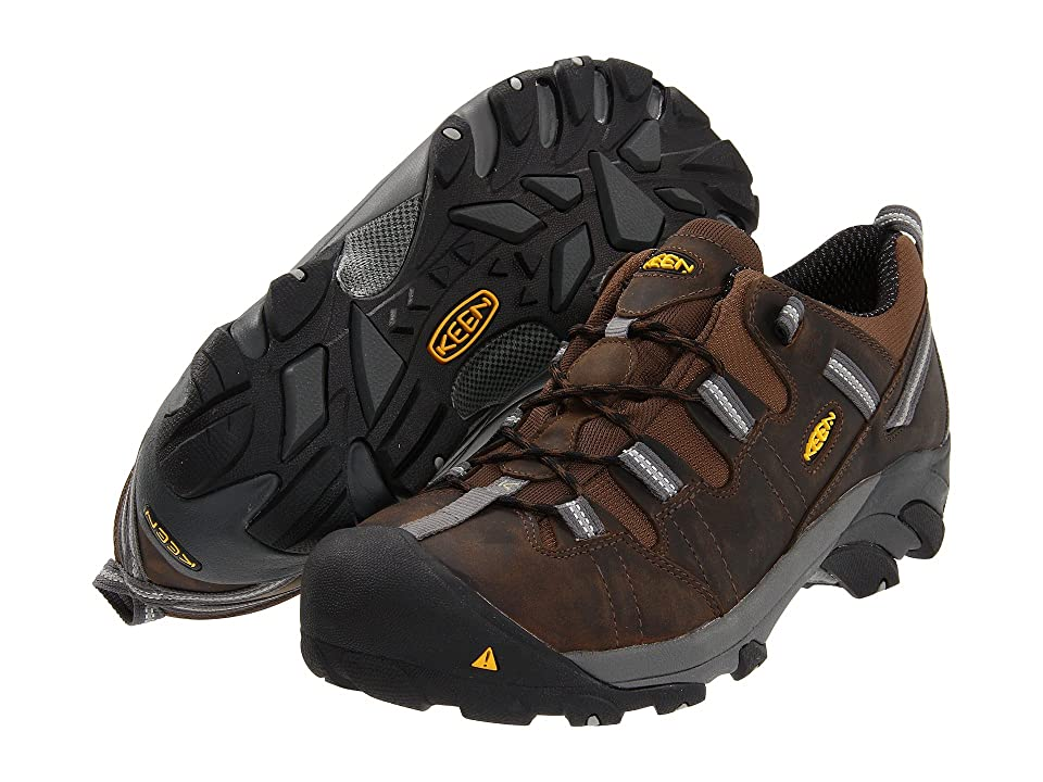 Keen Utility Detroit Low ESD (Dark Brown) Men