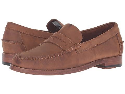 SEBAGO Legacy Penny, Tan Oiled Leather