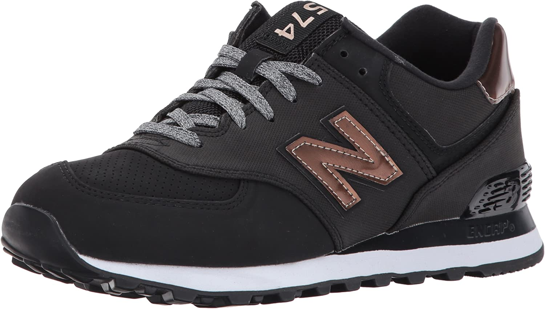 Amazon.com | New Balance Women's 574v1 Varsity Sport Sneaker ...